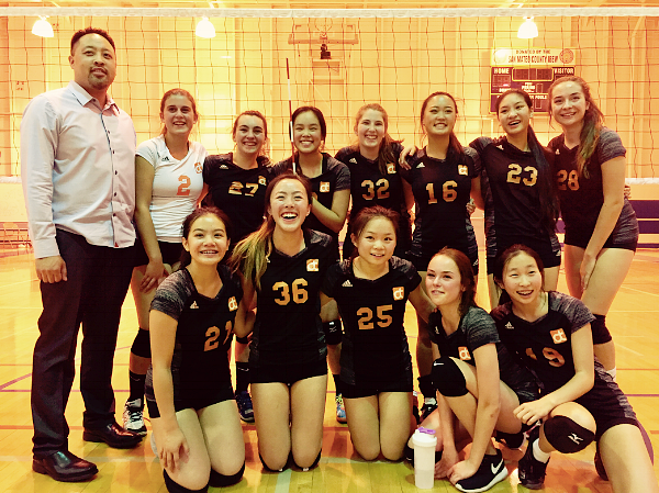 """Nothing is lost by not trying...except a valuable opportunity."" Triumph! October 26, 2017. The emotional and final game of the year for the first graduating class of senior Girls Varsity volleyball. The home game ended in a hard-fought three match victory for the team, three of whom founded the club just last year. This success is emblematic of their team's drive and happiness.   We hope that these optimistic young women will inspire you to apply for d.tech even though the limited number of spots for Open Houses and campus visits are booked. The March lottery determines who will be able to enroll, and your family is still very welcome to apply. Please keep the door open, and read more below."