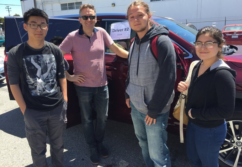 Being mindful about resources, the environment and reducing traffic means that carpooling has been a part of d.tech's community culture since its founding in 2014.