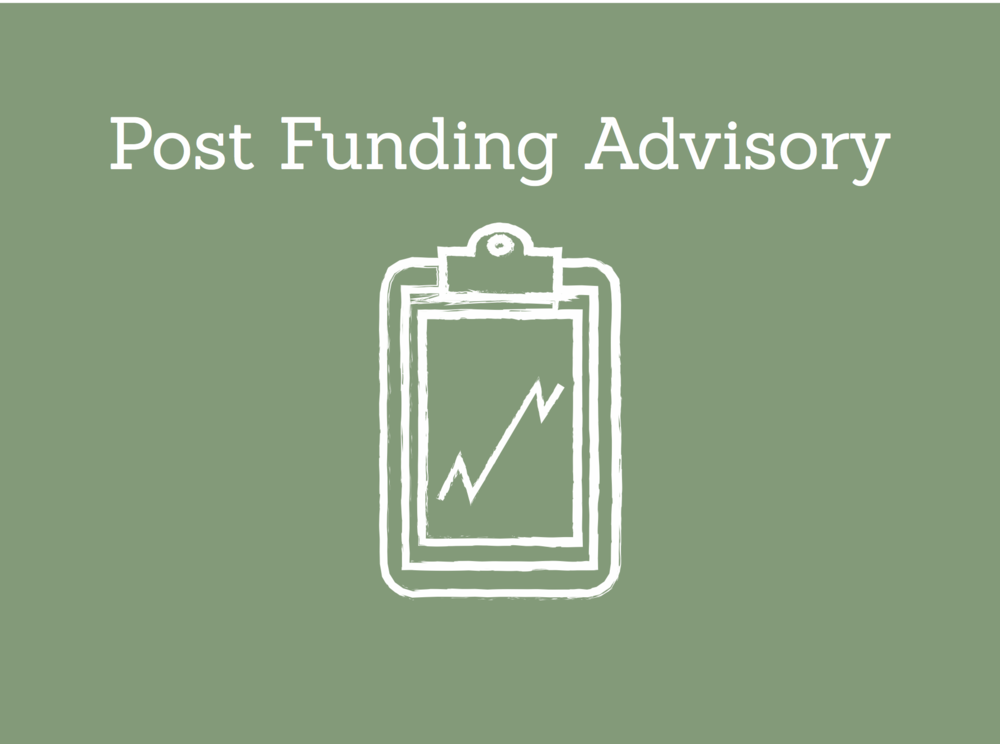 Post-Funding Advisory