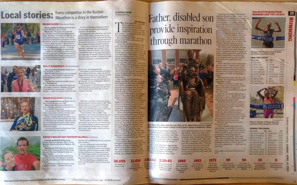 Patriot-News, Sunday, April 14, 2013