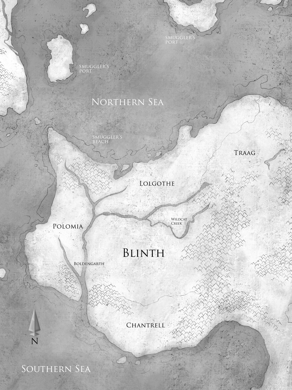 Book III Map