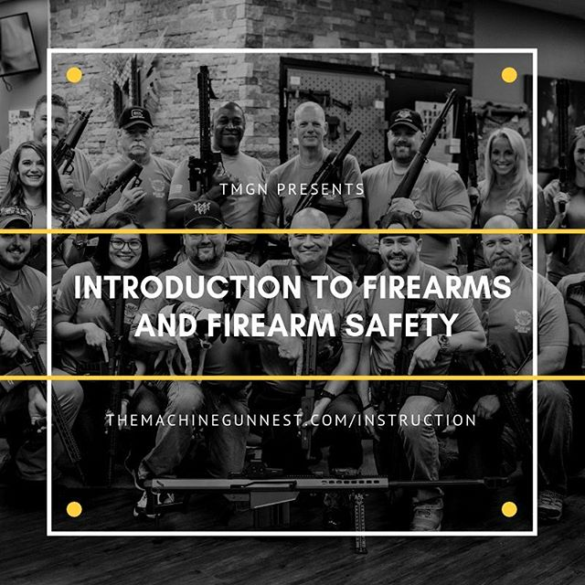 Pilot class for Introduction to Firearms and Firearm Safety is now up on the website.  This class should be expected to run roughly 1 hour. The price is discounted for it being a pilot class.  Age appropriate for 10 and older, there are 15 seats available for this first run.  Sept 28th, 430PM.  Sign up through the website.  themachinegunnest.com/instruction  #tmgn #frederick #md #maryland #training #education #firearmsafety #safety.