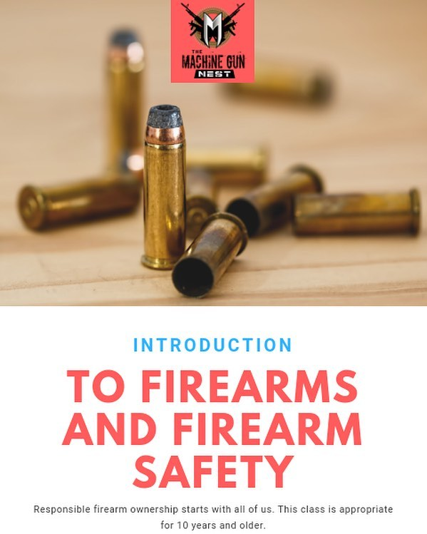 Do you know the proper order in which to clear a firearm? Maybe you're curious about how a firearm works and the nomenclature of the parts of each firearm. Do you have a family member or a friend you'd like to get started with firearm safety and understanding the different types you see in all of those movies and games?  TMGN has put together an introduction class for Firearms and Firearm Safety. The pilot class is set for September 28th at 430-530 PM.  Reduced costs for this initial class! Sign up on the website or come see a staff member.  Bring your daughter, wife, husband, brother, anyone you think that could benefit!  www.themachinegunnest.com/instruction  #tmgn #frederick #md #maryland #training #instruction #firearmeducation #firearmsafety #indoorrange #gunrange #youthfriendly