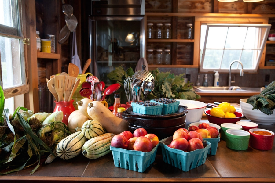 Chef Michelle's farm-fresh ingredients. Photo credit: Mike Vorrasi of vorrasi.com