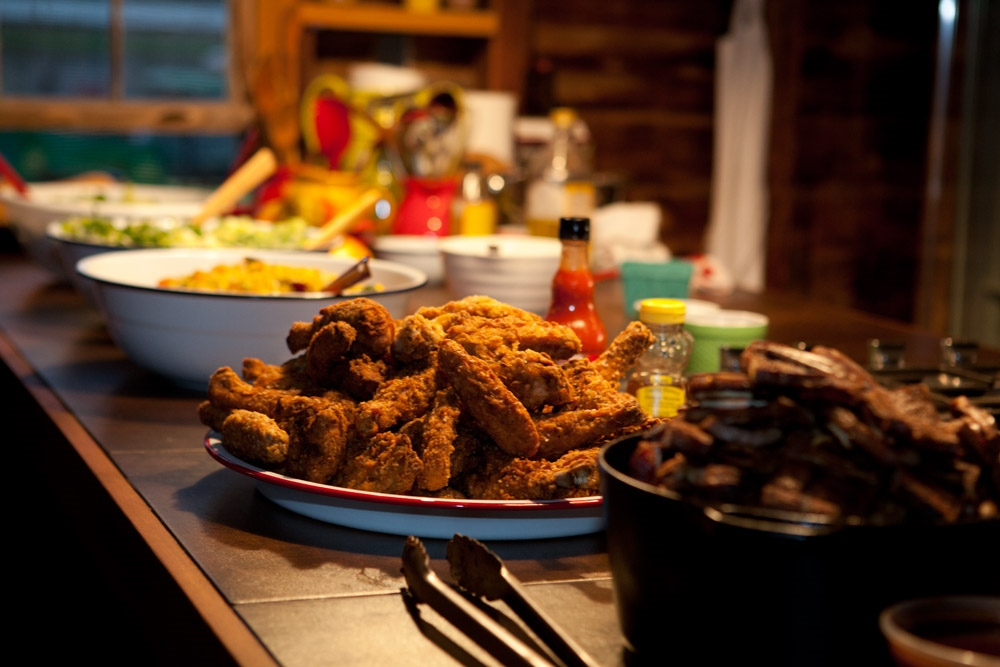 Michelle's Fried Chicken on the Farm. Her recipe can be yours by backing our Kickstarter campaign! Photo credit: Mike Vorrasi of vorassi.com