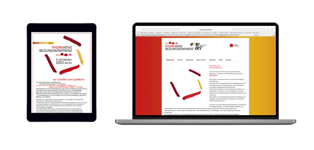 Newsletter & Website