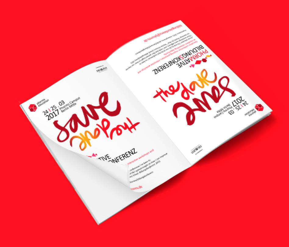 Save The Date Anzeige für 2017