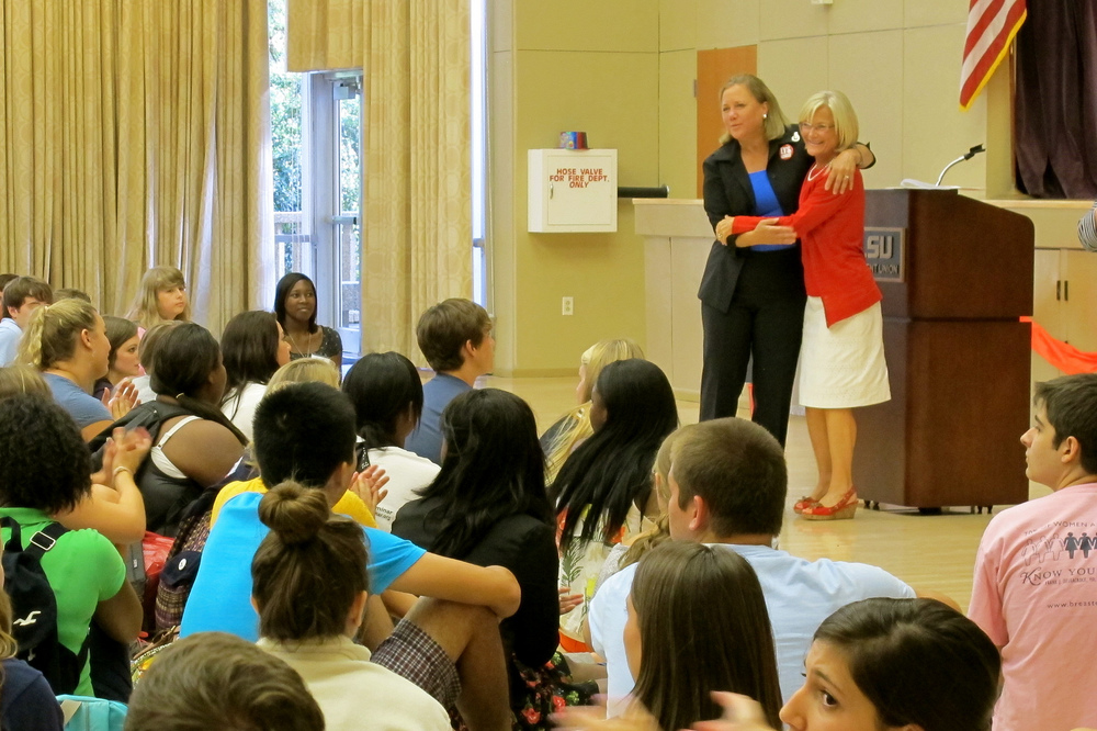 U.S. Senator Mary Landrieu and LYS Co-Founder Jo Pease