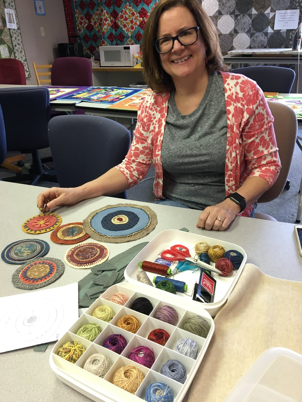 Modern Sampler Class at Anna's Sewing Center