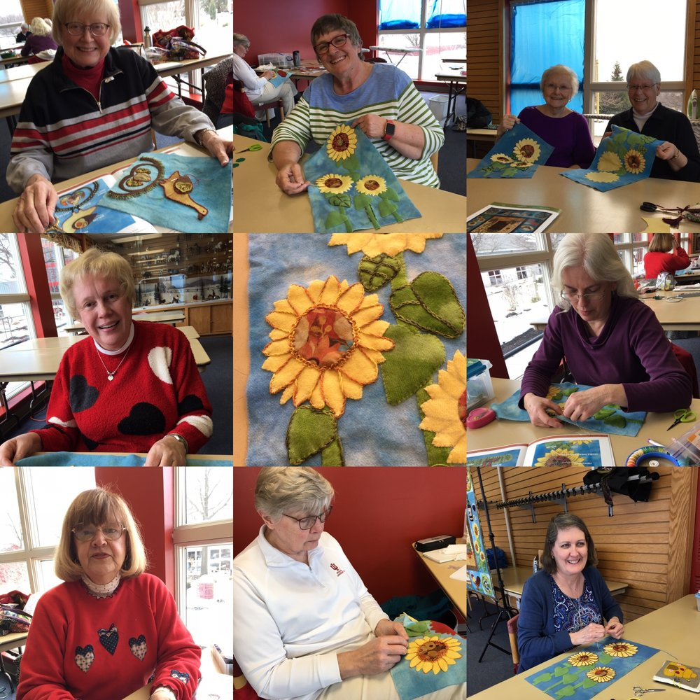 Tuscany Sunflower Class at Lake Farmpark 2018