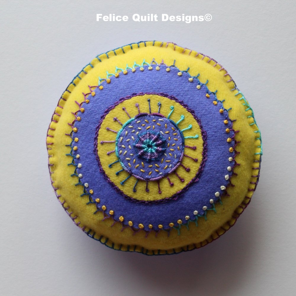 embroidery pincushion