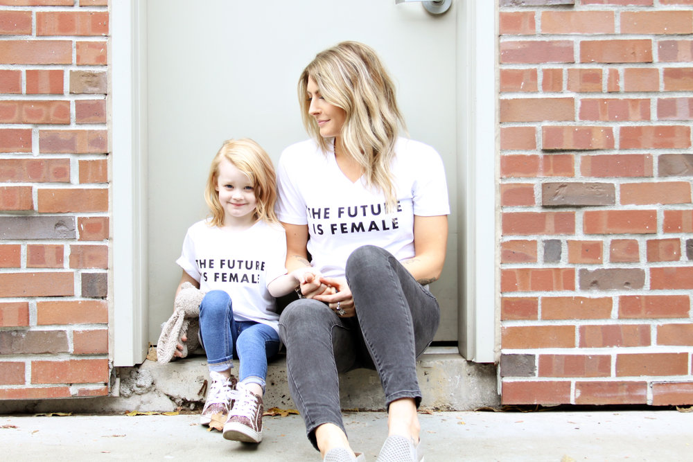 Mini + Me Boss Girl Collection by Nate Holzapfel