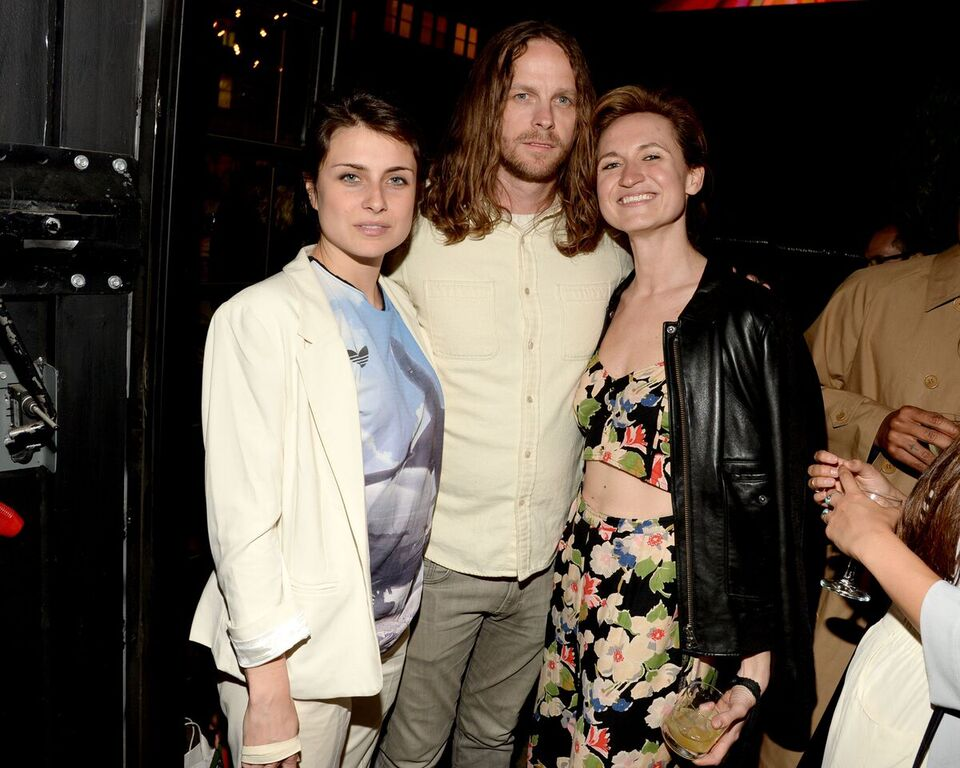 Photo: Patrick McMullan | Rachel Rossin, Taylor McKimens,Maria Kozak