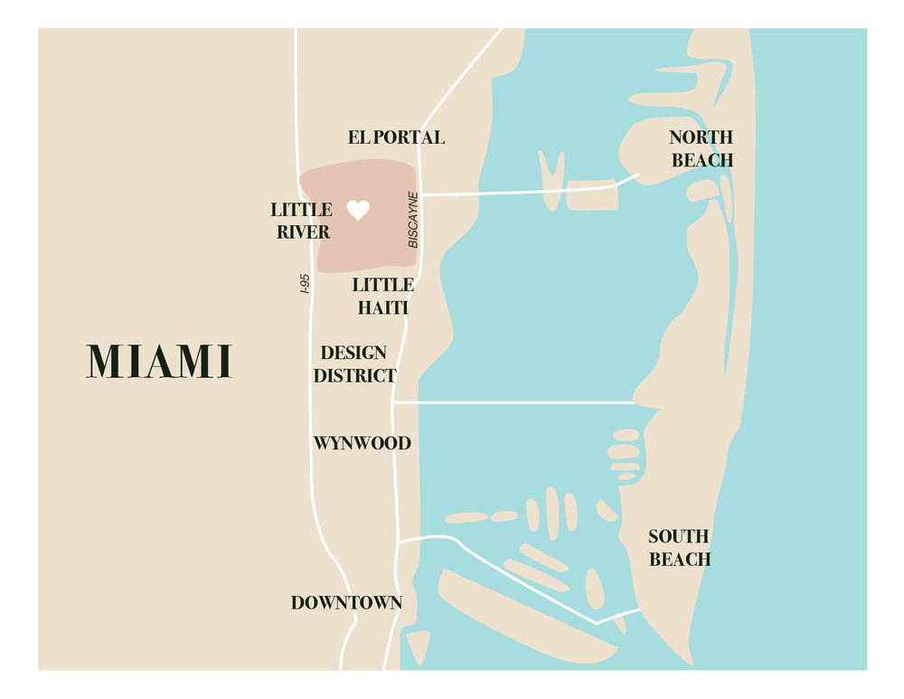 Little River is in the heart of Miami's newest wave of development, just north of the Design District and south of posh suburban areas