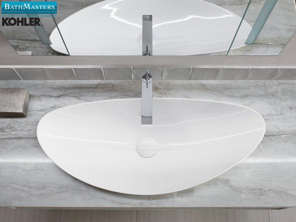 modern bathroom sink kohler