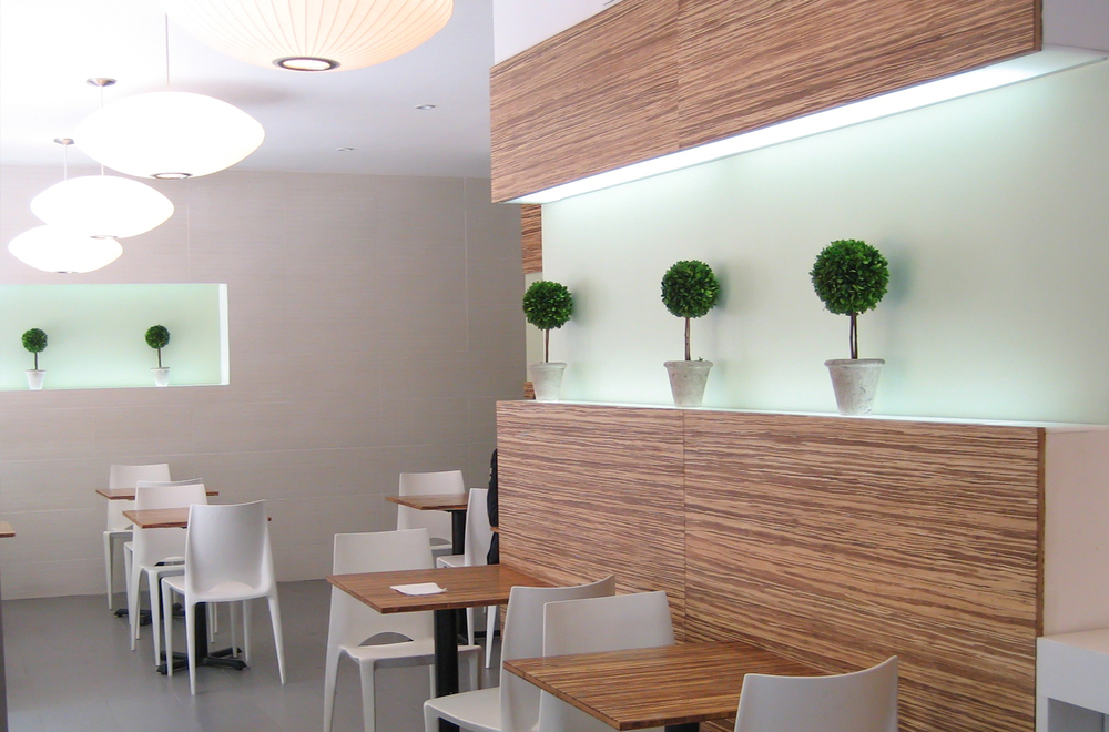Mandarina Studio :: Calista NYC Healthy Food restaurant design