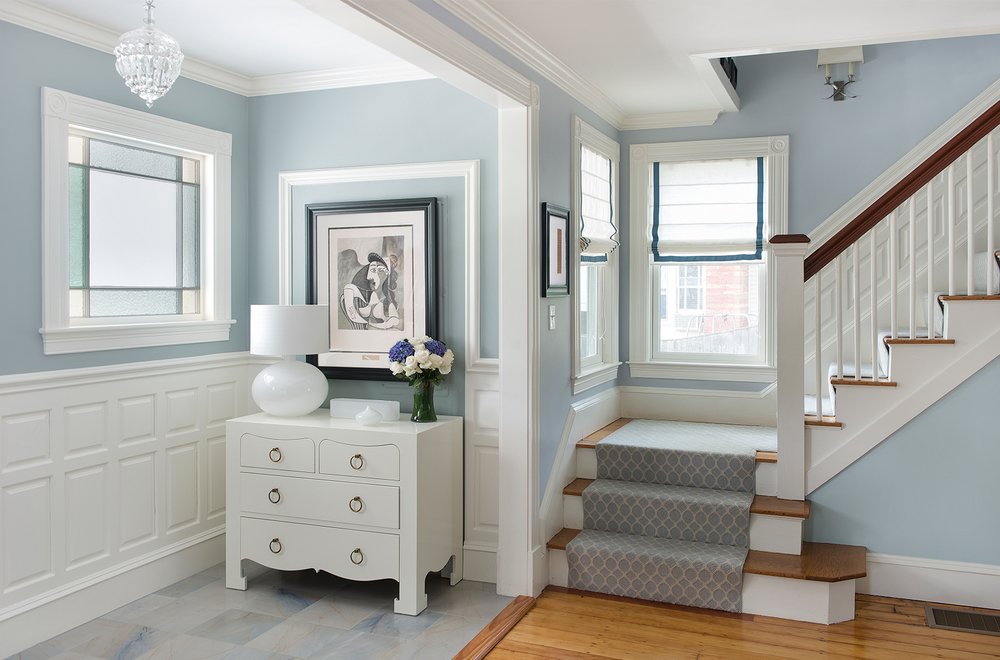 Contemporary house interior paint colors