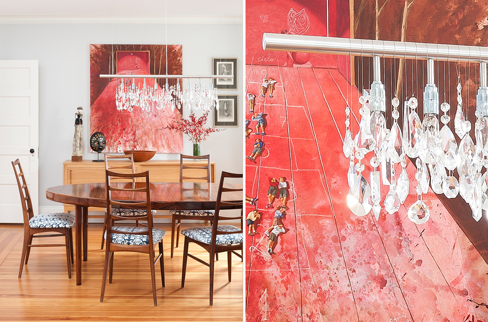 Mandarina Studio :: Boston interior designer :: bold dining room