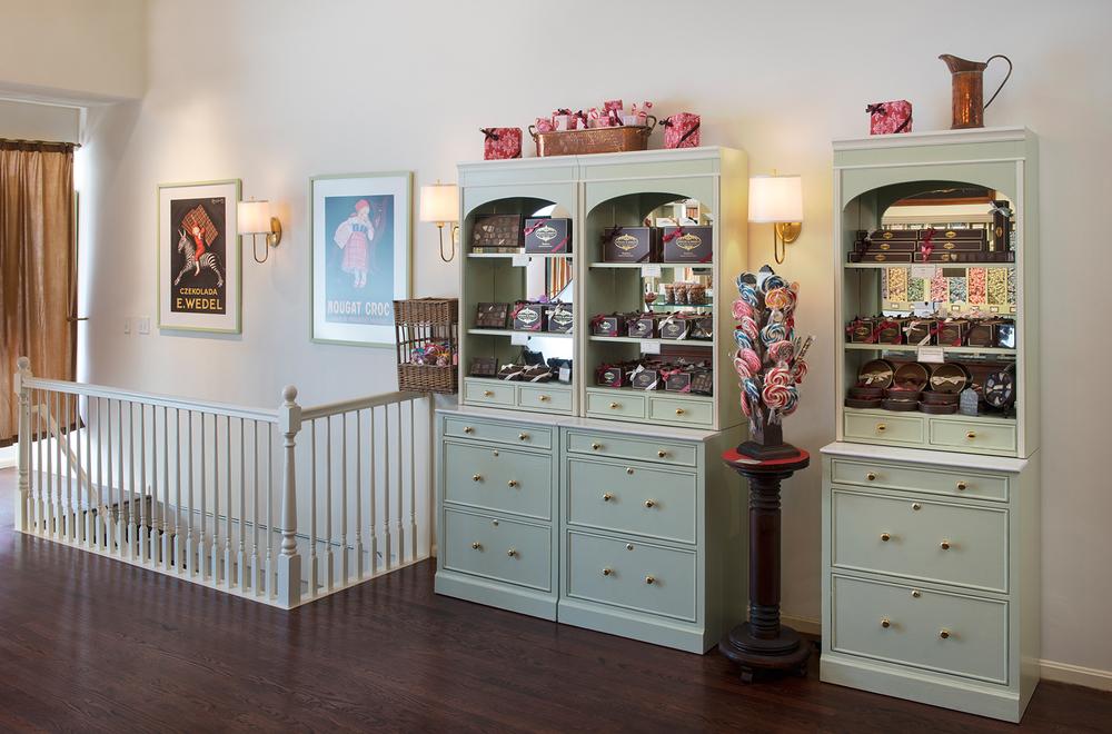Evelyn&Angels :: Mandarina Studio Boston Chocolate Company store design