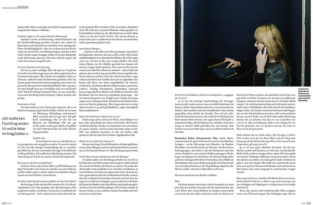 Nina Kusturica for DATUM