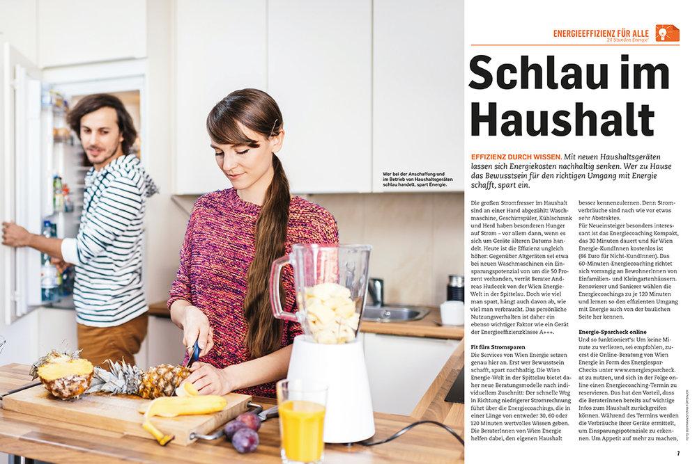 24h Energie customer magazine by Wien Energie