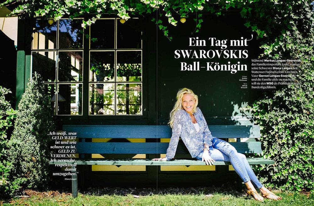 Diana Swarovksi for Seitenblicke Magazin