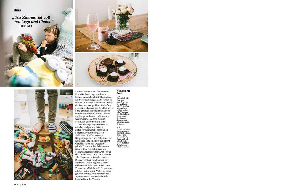 Gerald Fleischhacker Homestory for Seitenblicke Magazin
