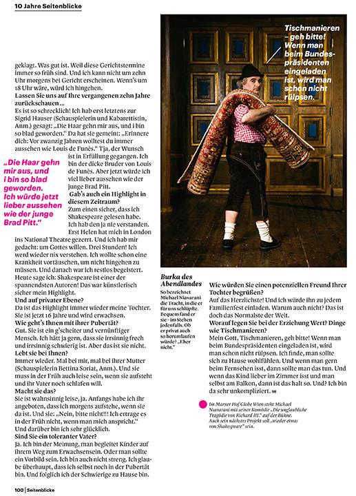 Michael Niavarni for Seitenblicke Magazine