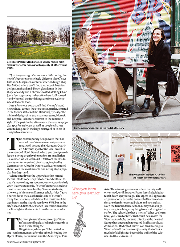 """Scandinavian Traveler"" - SAS inflight magazine"