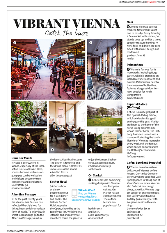 """Scandinavian Traveler"" - SAS inflight magazine"