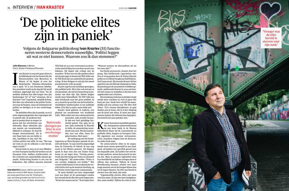 Ivan Krastev for Elsevier