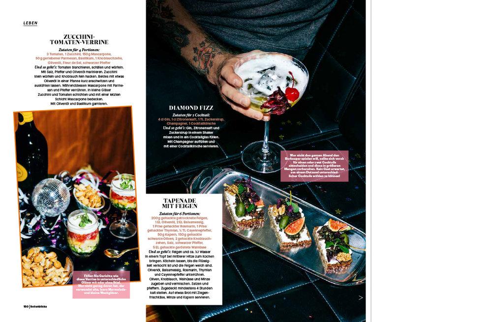 Food editorial for Seitenblicke Magazin
