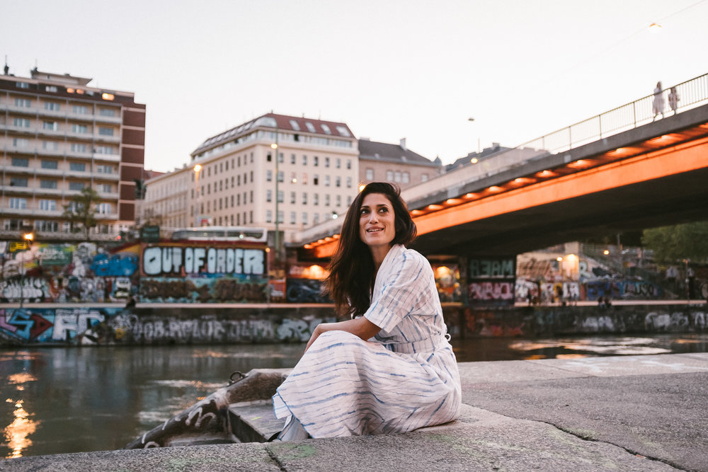 Vienna w/Fatima - — Fatima Bhutto from Pakistan explores Vienna for Condé Nast Traveller India