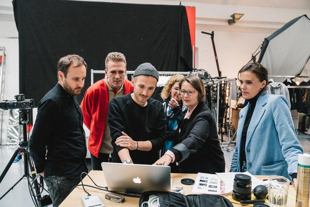 Big team in big studio