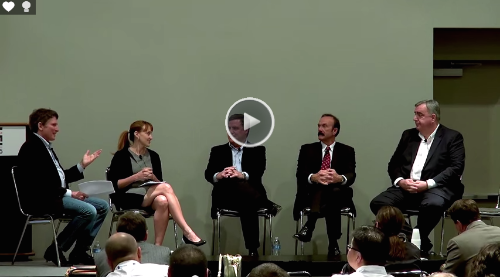 "LIGHTFAIR 2015 ""Lighting the Way to the IoT"" Panel (host Hugh Martin)"