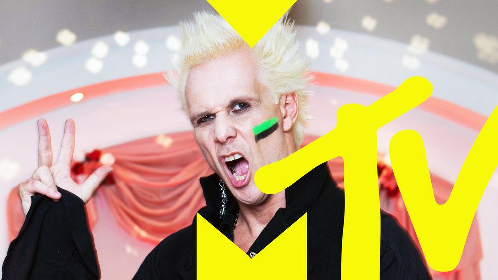 MTV International Trollback Rebrand Creative Director