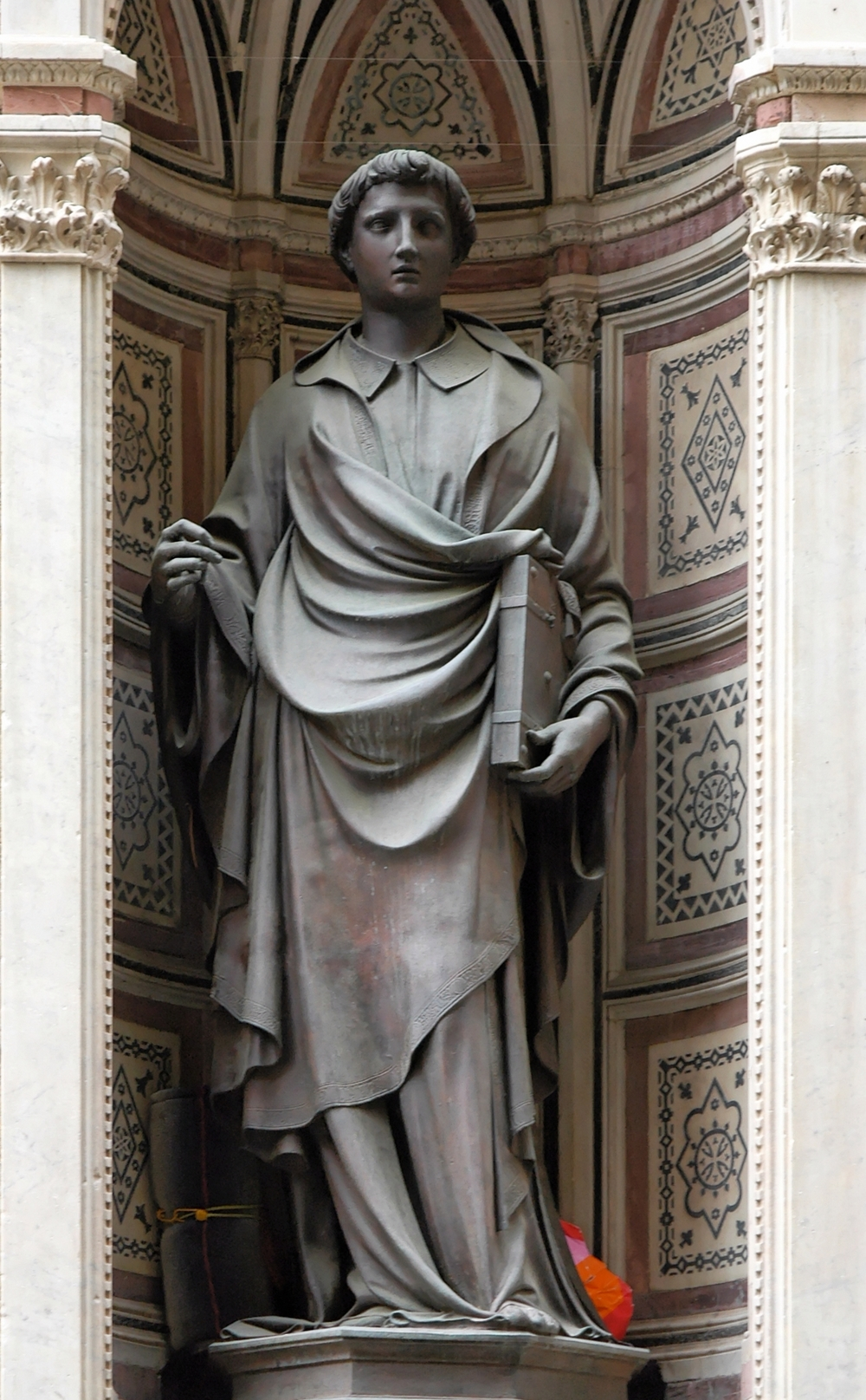 """St. Stephen"" by Ghiberti, 1428."