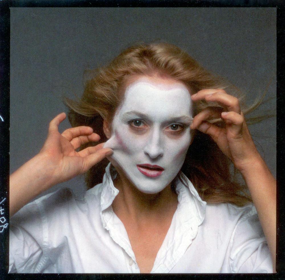 shot by Annie Leibovitz, Meryl Streep, New York, 1981