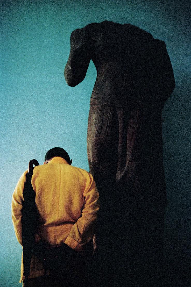 王信 | 印度 數位輸出, 1981 / 2016 輸出 藝術家自藏