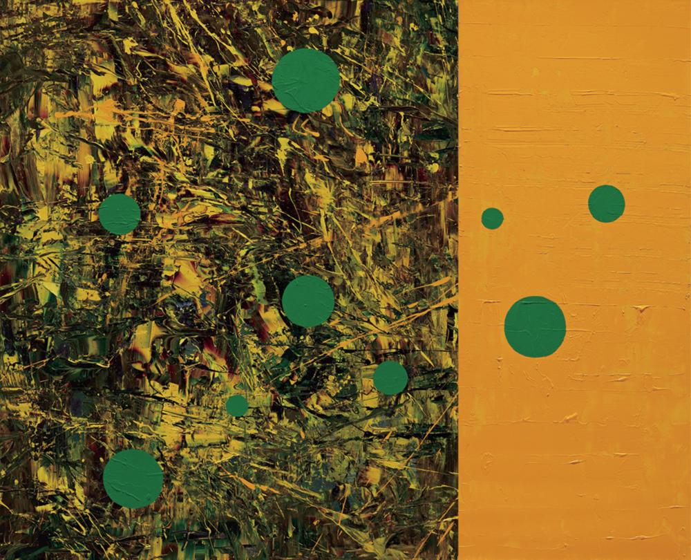 〈轉變場域〉, 2012, 壓克力顏料、畫布, 173×218CM