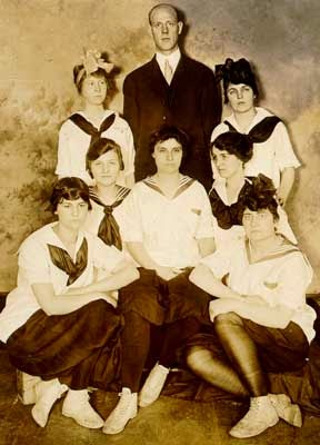 1910s Kentucky Women's Basketball Team