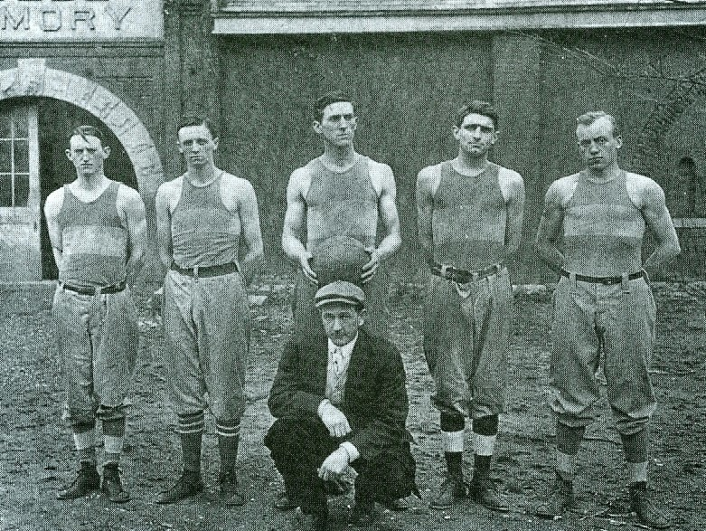 Coach Edwin Sweetland's 1911-1912 Kentucky Wildcats