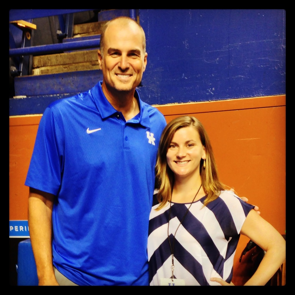 Kentucky Sports Radio Blogger Tyler Thompson with Sportscaster Jay Bilas