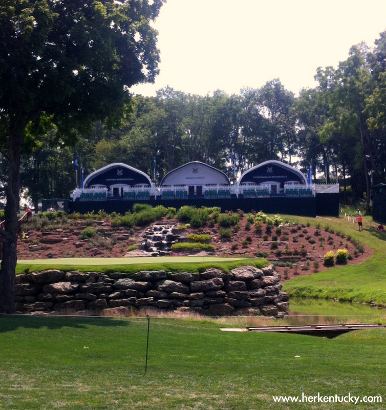 Clubhouses for Lexmark, Brown-Forman, and Commonwealth of Kentucky ticket holders at Valhalla. You're going to see somebody you know; you definitely want to look cute!