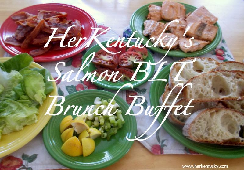 HerKentucky's Salmon BLT Brunch Buffet