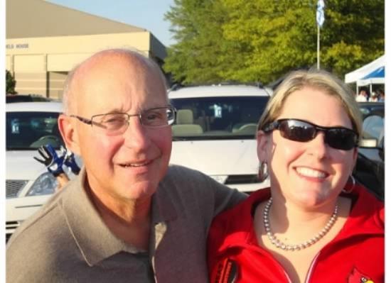 Beth with Dr. Liebschutz.