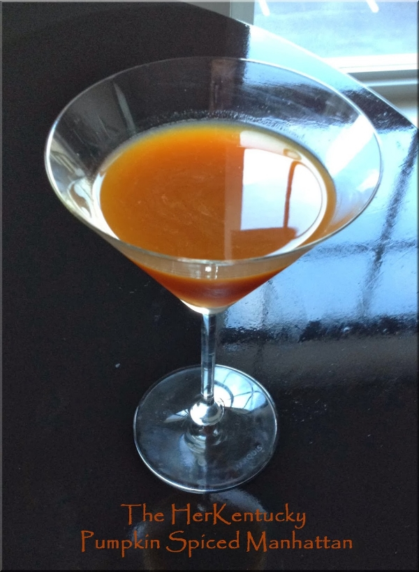 Pumpkin Spiced Manhattan | Kentucky Bourbon Whiskey | HerKentucky.com