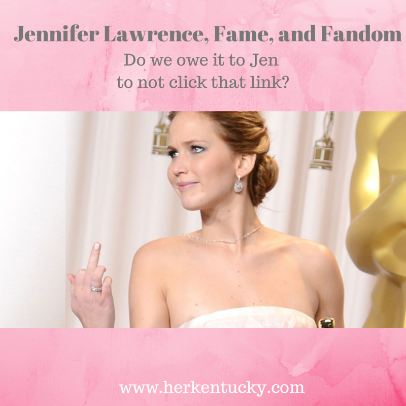 Jennifer Lawrence, Fame, and Fandom | HerKentucky.com