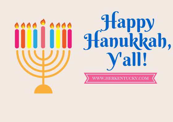Happy Hanukkah, Y'all!