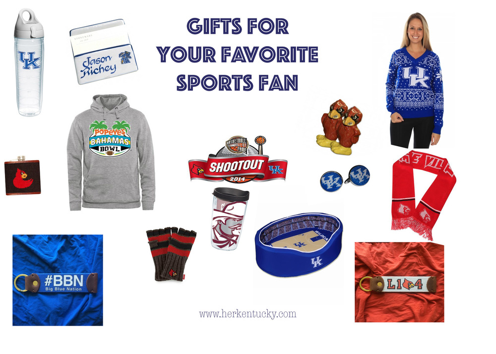 HerKentucky | Holiday Wish List for Sports Fans | Kentucky Basketball, Louisville Basketball, Louisville Stoneware